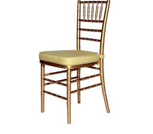 Cadeira TIFFANY ouro 0,40CX0,40LX0,44H