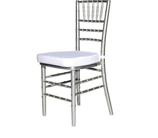Cadeira TIFFANY prata 0,40CX0,40LX0,44H