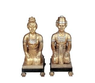 Esculturas Orientais 0,30CX0,22LX0,60H