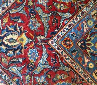 Tapete Oriental Vermelho 3,30 C x 2,30 L
