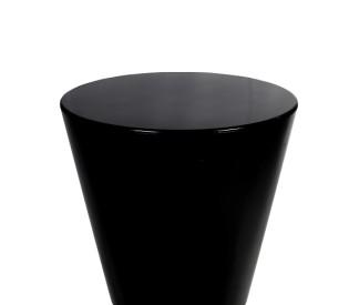 mesa lateral disco preta 0,70DX0,66H