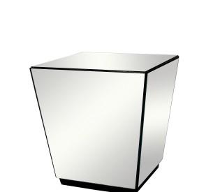 mesa lateral espelho 0,60CX0,60LX0,65H